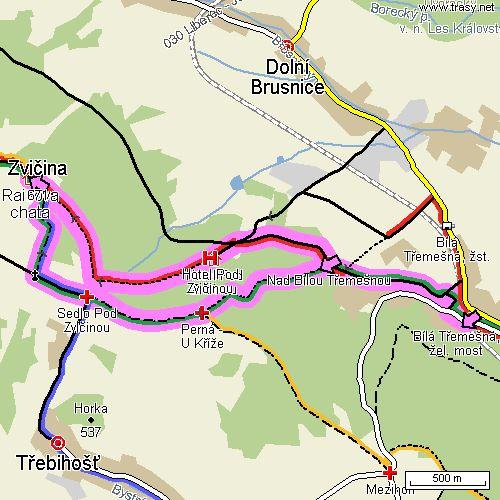 zvicina_bila_tremesna_mapa